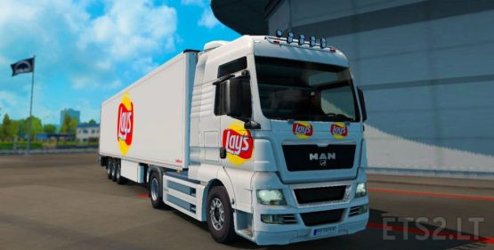 Lays skin for MAN and TRAILER