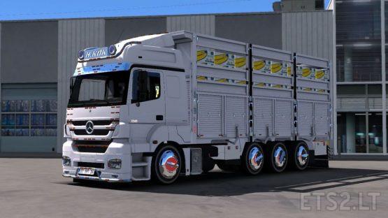 Mercedes Axor 3240 Reel + Rim Pack