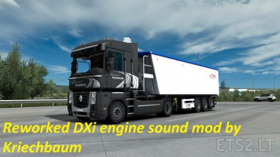 Renault DXi engine reworked sound mod