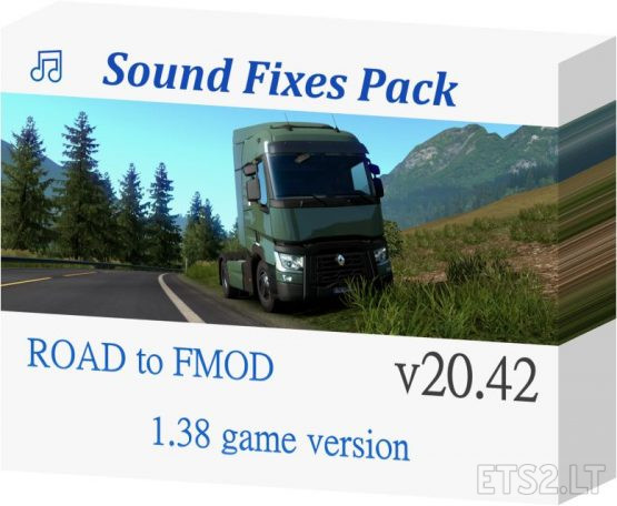 Sound Fixes Pack v 20.42