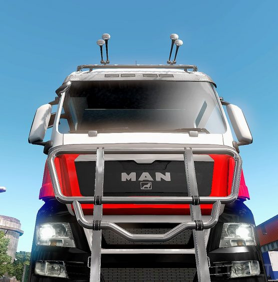 Skin MAN TGX version 1.37 / 1.38