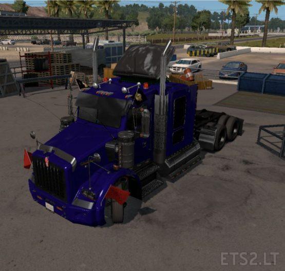 Kenworth T800 Cartruck