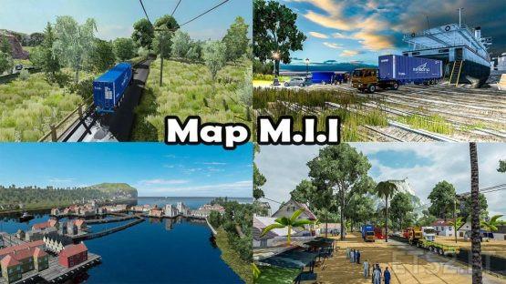 MAP M.I.I REBUILD – ETS2 1.37,1. 38