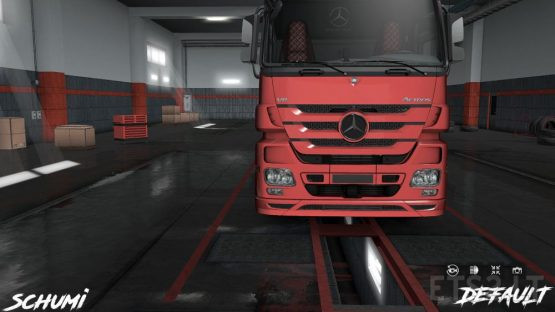 Mercedes Actros MP3 Reworked v3.3 [Schumi] [1.38]