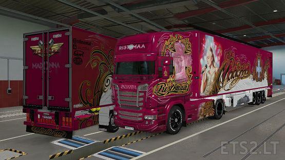 Ristimaa Madonna for Scania RJL version 6.0 for Euro Truck Simulator 2 (v1.38 )