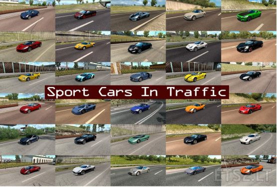 Sport Cars Traffic Pack by TrafficManiac v6.9