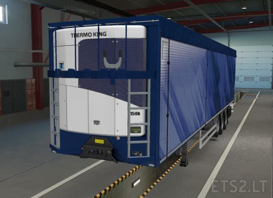 Thermo King Modified Cooler for SCS Owned Reefer Trailer