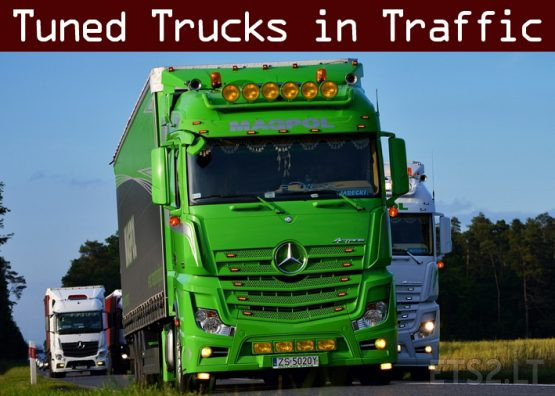 Tuned Truck Traffic Pack by Trafficmaniac v2.6