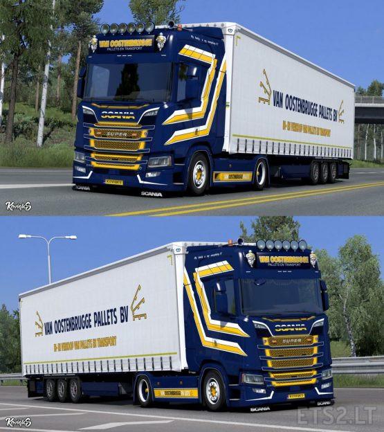 Scania NextGen R & S Van Oostenbrugge Skin Pack by KoviqkS (Update)