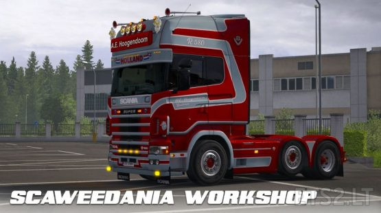Scania Trucks Skin Pack