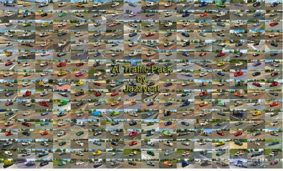 AI Traffic Pack by Jazzycat v13.5