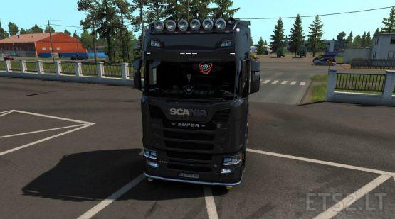 Scania Glass Stickers