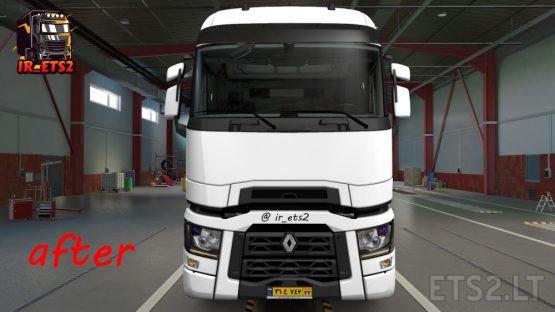 (ETS2) V 1.38.x Renault T Model New Headlight addon 2020 MOD