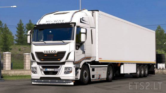 Iveco HI-WAY Custom + Lux Interior 1.38