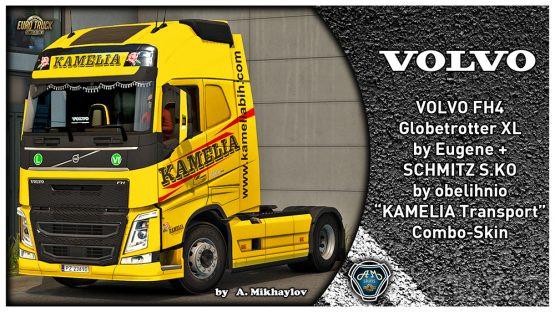 VOLVO FH4 KAMELIA Transport Combo Skin