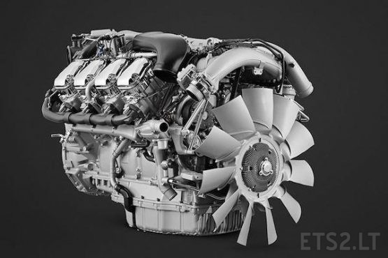 New Scania 770HP engine for Scania NG with stock & OP sound