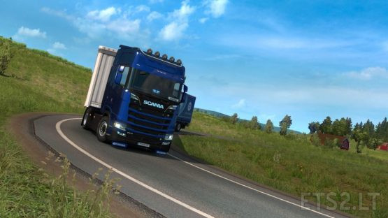 Power On All Wheels 1.38 (for all models of Scania)