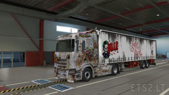 Rusty – ScaniaS + SCSTrailler