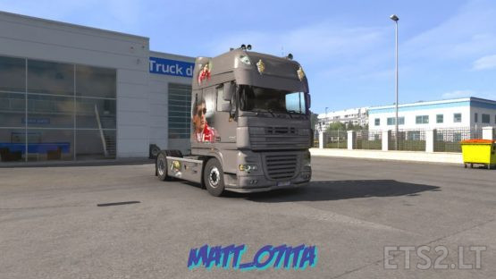SENNA EDITION daf xf105 METALLIC