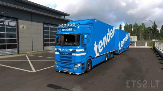 Thor Tenden Transport AS Skin for Scania S Tandem