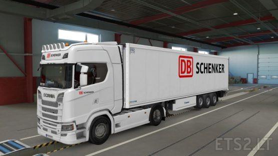 DB Schenker Paintjob – Krone DLC Edition by Ulas