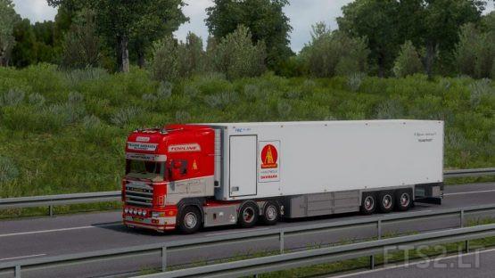 P.Bjarne Andersen Scania 164G 580 + Trailer [1.38-1.39]