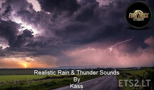 Realistic Rain & Thunder Sounds V3.6