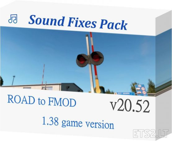Sound Fixes Pack v 50.2