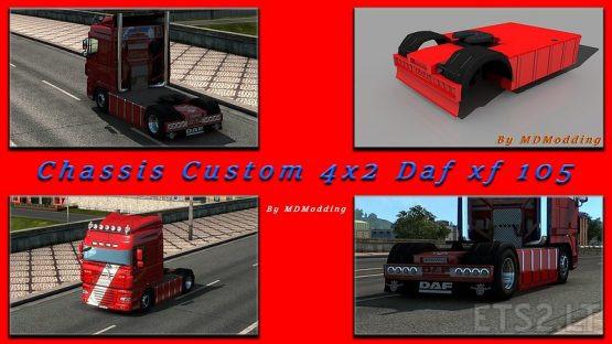 Chassis 4×2 Custom #1 Daf XF 105
