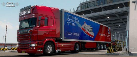 Goris Transport Scania Skin Pack