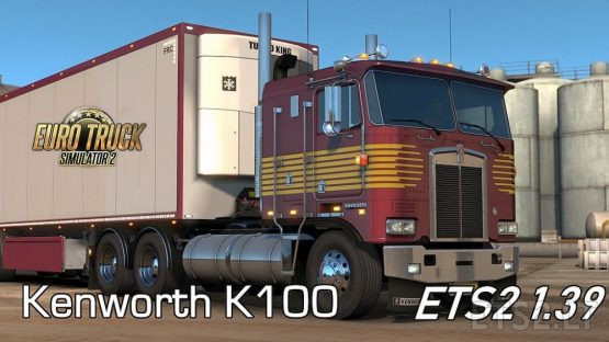 Kenworth K100 for ETS2 1.39