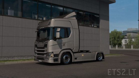 Low deck chassis addon for Eugene Scania NG by Sogard3 v 1.6