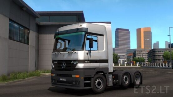 Mercedes Actros MP1 Update 1.39 [Fix bug + add new sound]