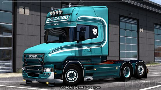 RVS Cargo RJL's Scania T 6-series Topline Skin