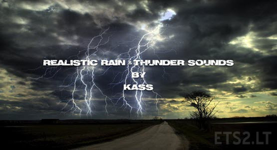 Realistic Rain & Thunder Sounds V3.7