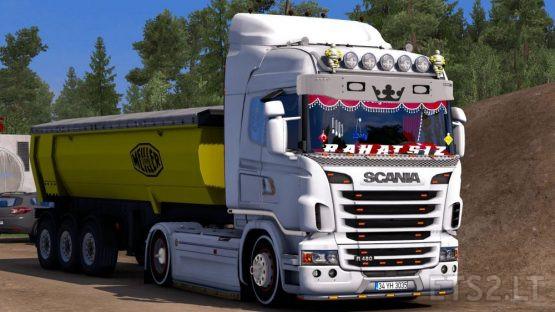 Scania R Custom + Lux Interior