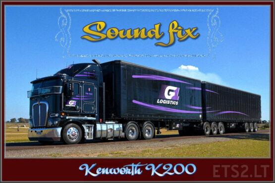 Sound fix for Kenworth K200