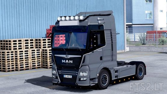 Man TGX Euro 6 v2.2 (MADster) *FMod & Open Window*