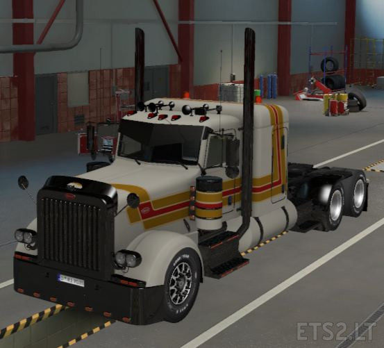 peterbilt 389 custom ets2 1.39