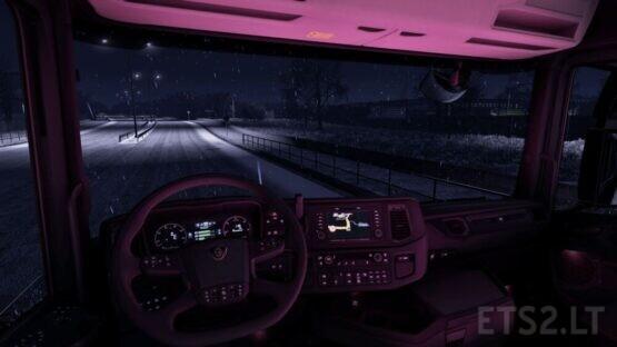 Scania Next Gen RGB Cabin Light