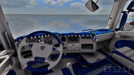 Scania R Custom Holland Interior