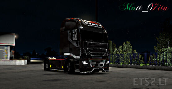 Iveco hi-way CHROME EDIT V 1.0 by Matt_07ita (f-mod/open wind. ready)