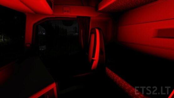 Volvo FH16 2012 RGB Interior Light