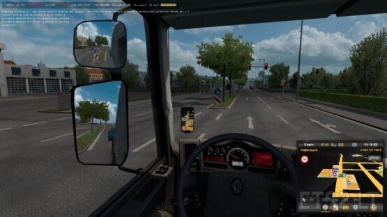 Smart GPS Background & Speed icon ETS2_1.39.x