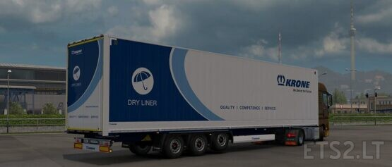 Trailer Krone DryLiner Mega v1.0 (Ownable)