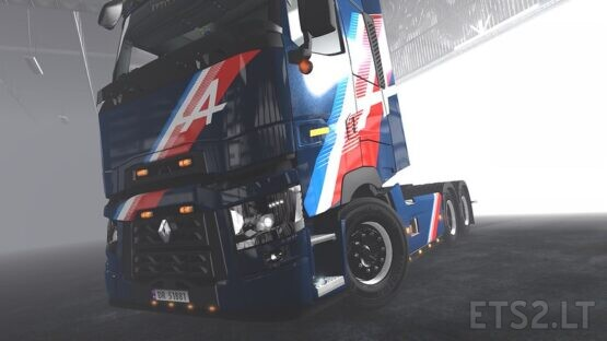 Renault Trucks – Alpine Skins pack V1.4