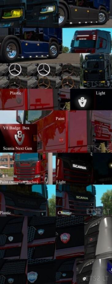 Big Pack Scania Next Gen v1.7 -1.39.x