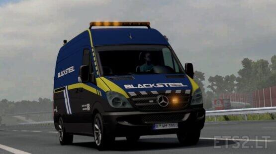Blacksteel Worldwide Escort Vehicle