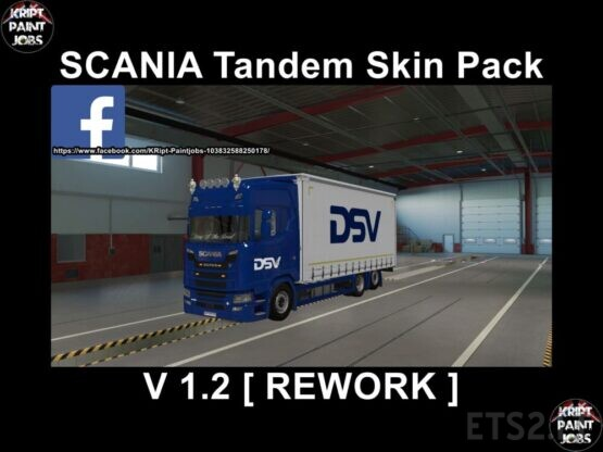 Scania S Krone Tandem BIG Pack [Rework] v.1.2