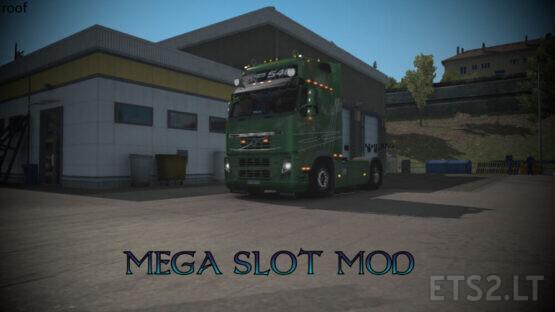 MEGA SLOT MOD for Volvo Classic (roof) by Matt_07ita